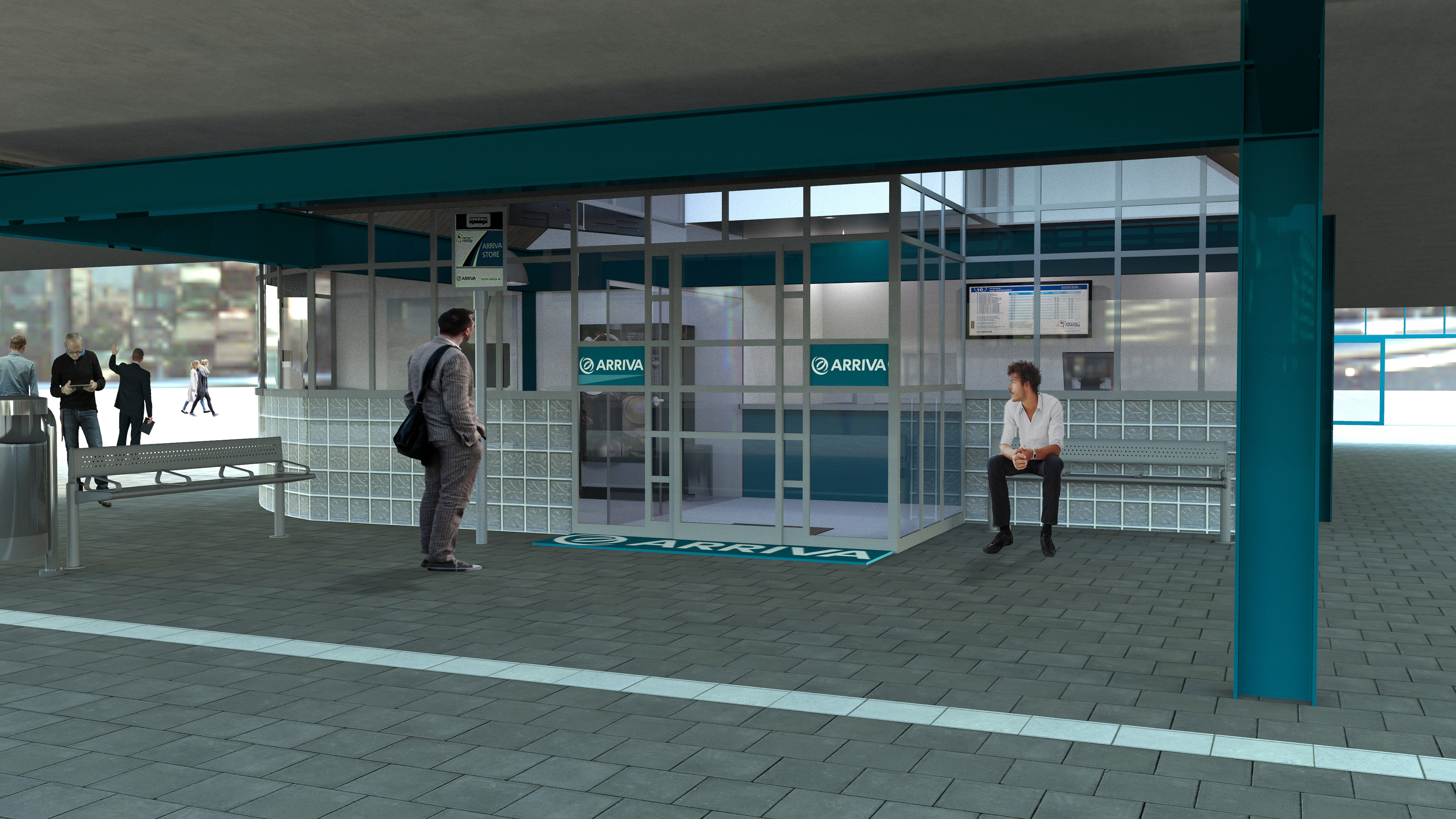 Arrivastore station Heerenveen