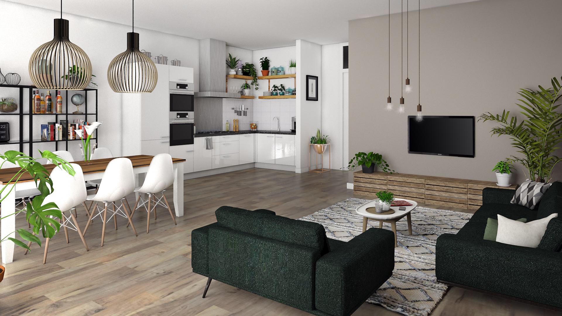 Interieur appartement Amsterdam