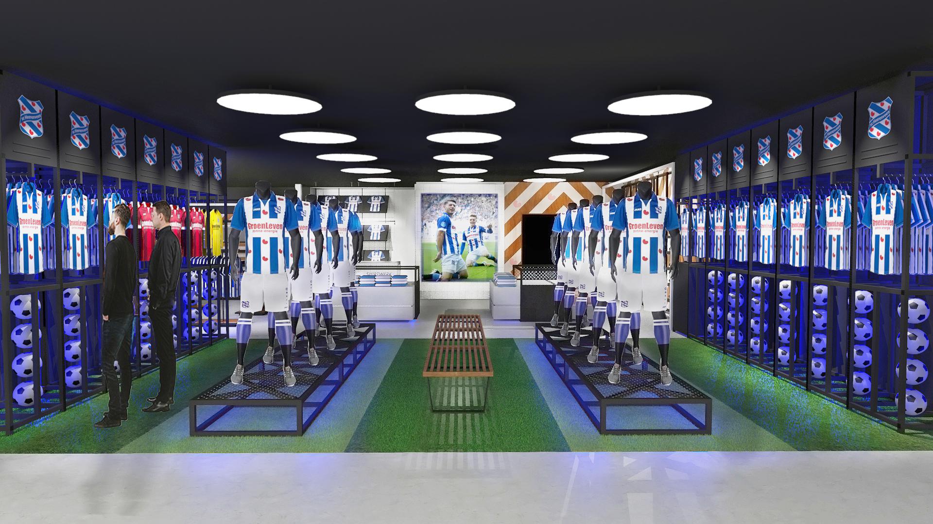Fanshop (Feansjop) SC Heerenveen