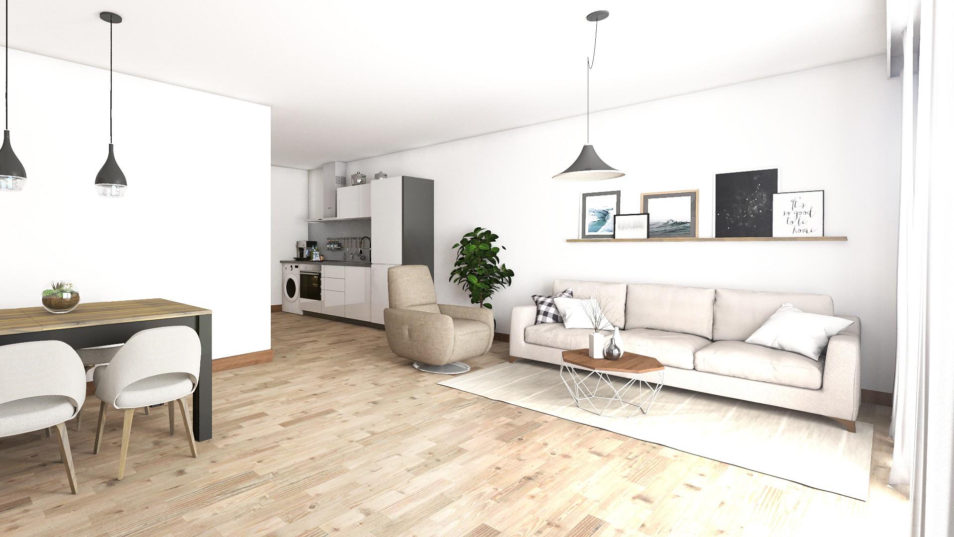 Interieur impressie senioren nieuwbouw appartement